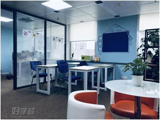 廣州韋文新視界教育 自習區