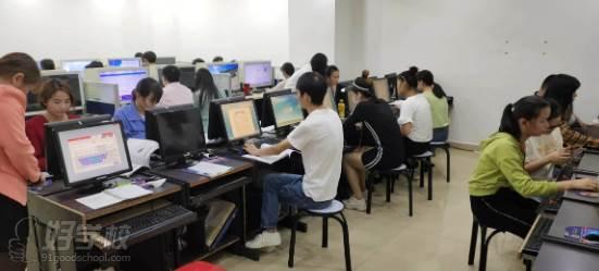 东莞新理想职业培训学校 学习现场
