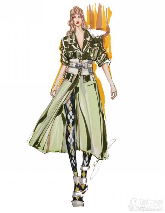 广州服装设计专业年课班作品展示