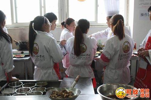 重庆可欣餐饮培训学校 学习现场
