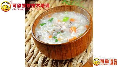 重庆可欣餐饮培训学校 营养早餐粥培训