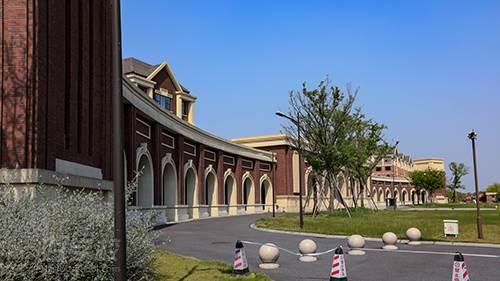 浙江理工大学科技与艺术学院学校环境