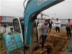 挖掘机驾驶高级班