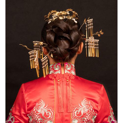 一對一中式新娘妝課程培訓班