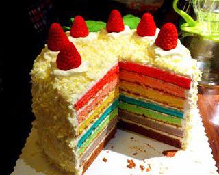 杭州彩虹蛋糕培训课程