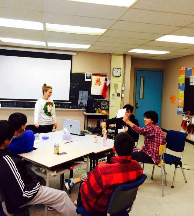 深圳加拿大漢森高中跨境課堂學習班