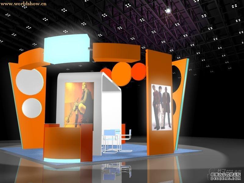 可以制作出展示模型,用于展览设计室内设计,陈列设计,店面,路演等.图片