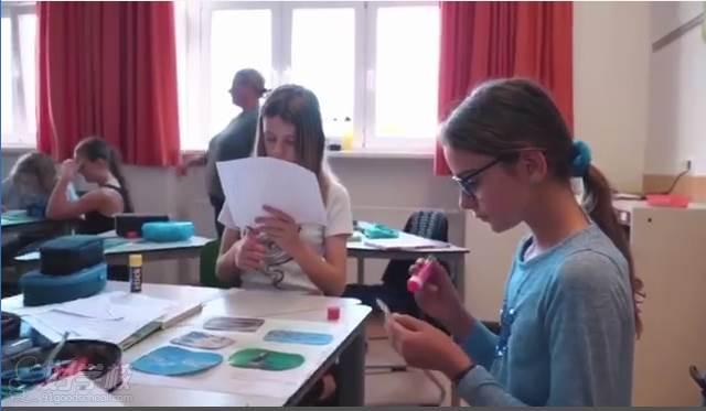 德国爱格蕾国际高中学习现场