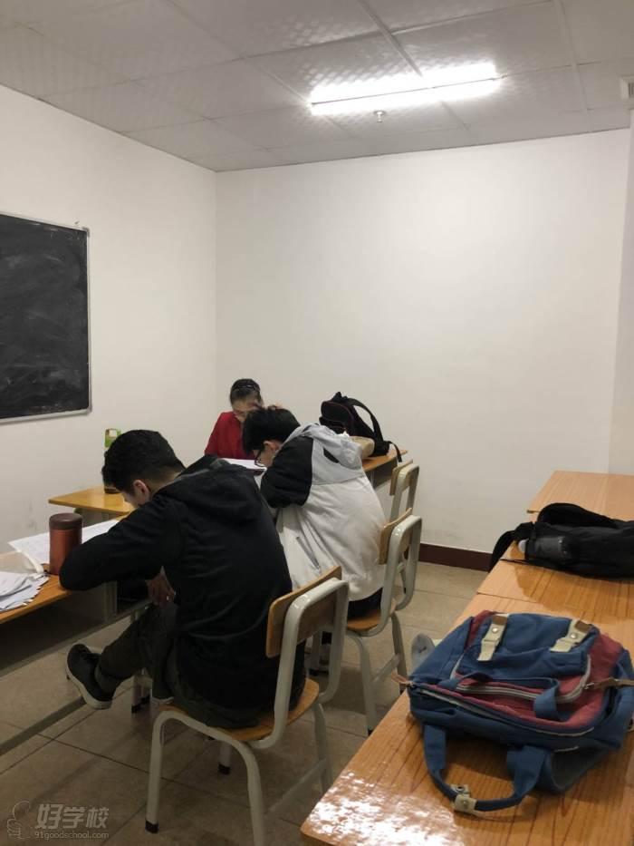 高中政治輔導班教學現場