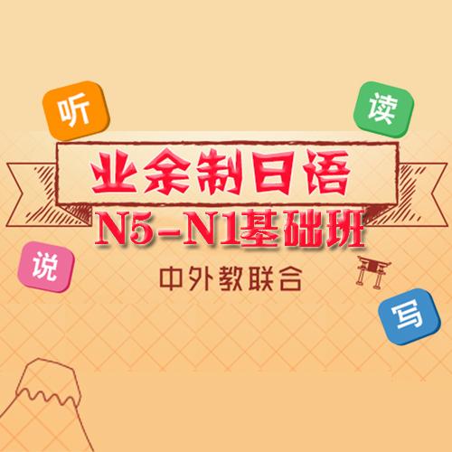 廣州日語N5-N1基礎班課程
