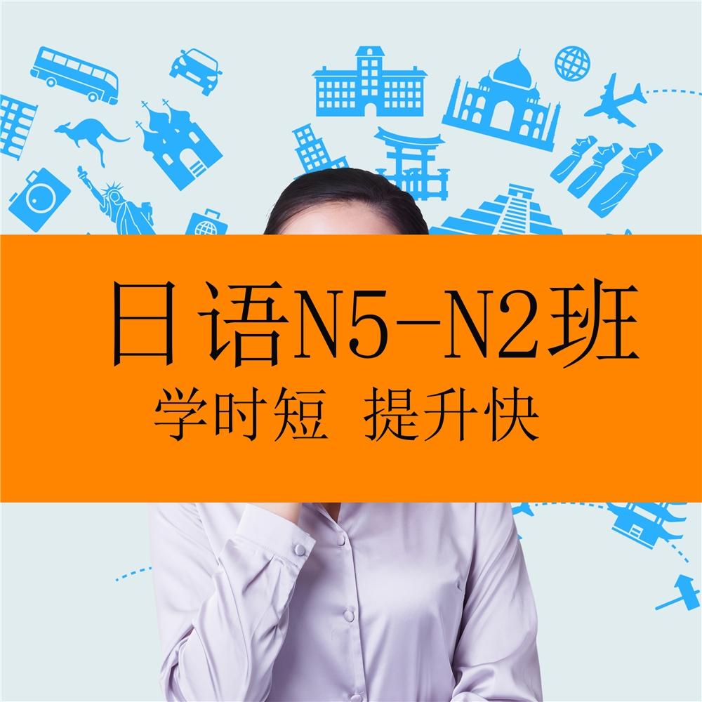 廣州日語N5-N2全程班課程