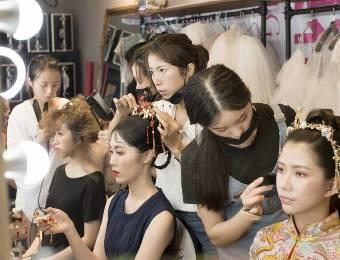 珠海化妆全能妆培训课程