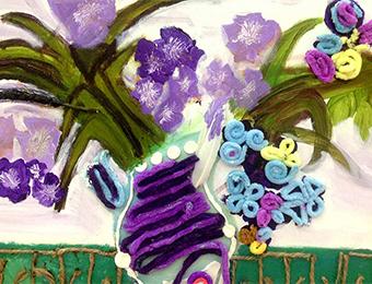 4-5歲少兒美術種子創想階段線上培訓班