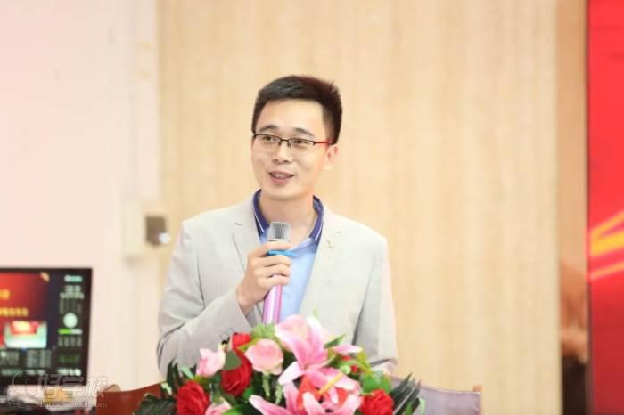 ▲企業家代表:東莞市南園教育集團總經理  黃楚龍