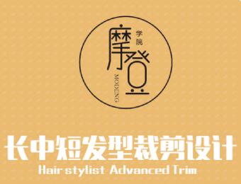 长沙长中短发型裁剪设计培训课程