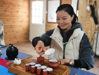 成都初级茶艺培训班