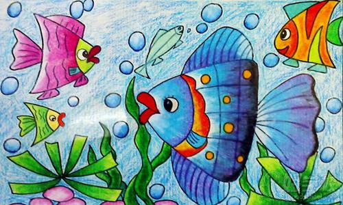 少儿美术学习:如何指导孩子画儿童画?