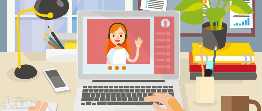 摄图网_400159423_wx_在家上网线上学习课程(企业商用)