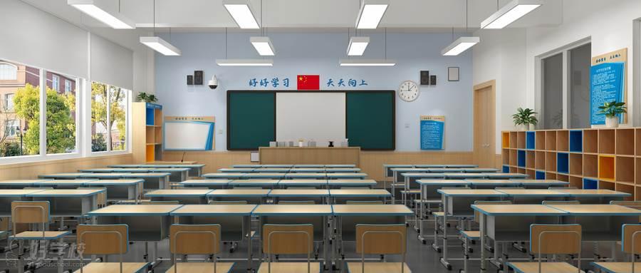 摄图网_401727562_wx_3D教室场景(企业商用)