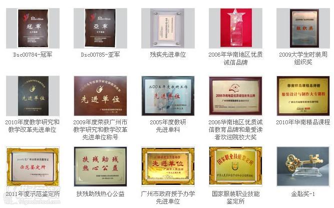 广州秀丽服装学院办学荣誉