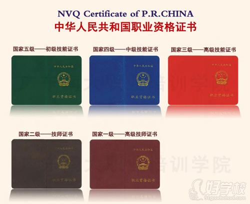 保健按摩师国家职业资格证书
